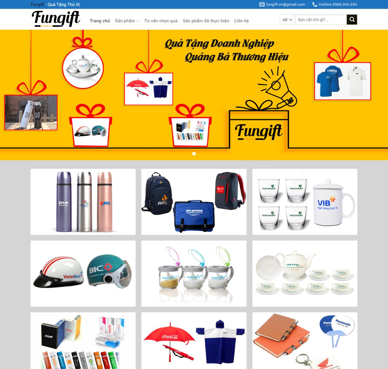 Mẫu web quà tặng doanh nghiệp thumbnail